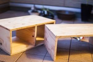 簡単DIY 収納棚