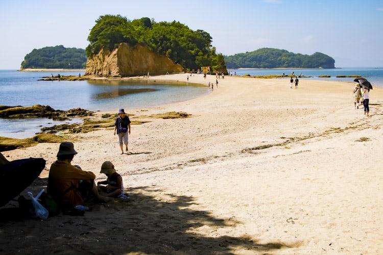 エンジェルロード 小豆島