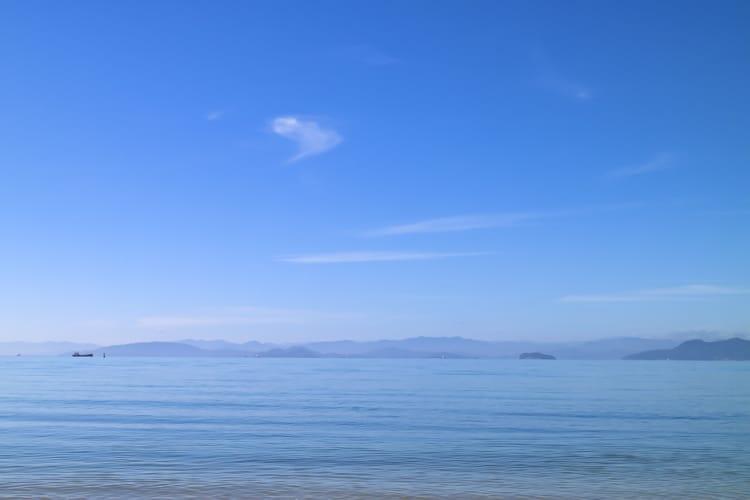 小豆島 海 鹿島海岸