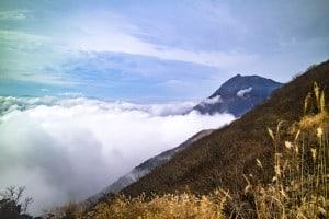 鶴見岳 雲海