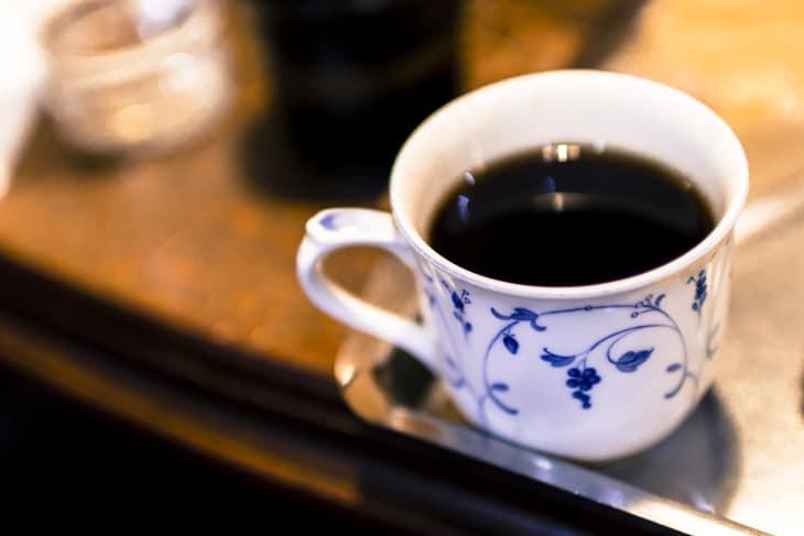 軽食 バラ屋珈琲 モーニングコーヒー