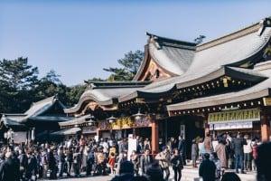福山八幡宮 初詣