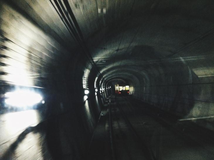 黒部ダム ケーブルカー 03