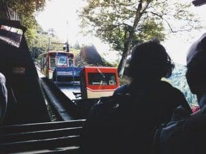 黒部ダム ケーブルカー 01
