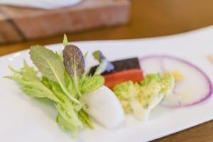 ソーフーカフェ 契約農家の野菜