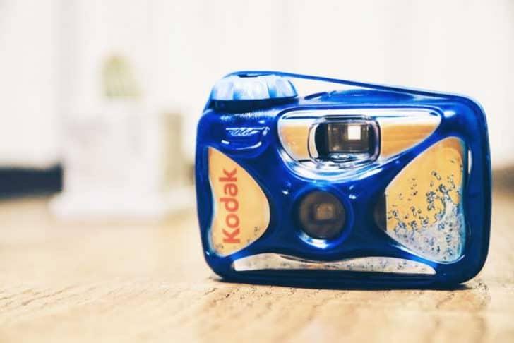 Kodak 防水使い捨てカメラ