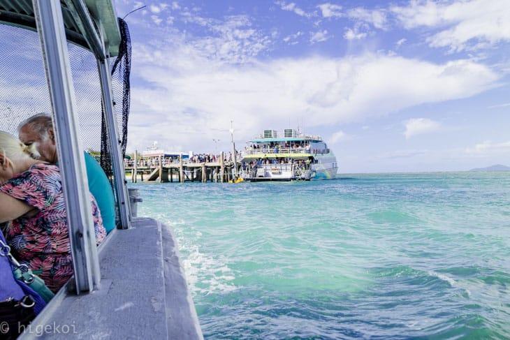 グラスボトムボート グリーン島