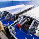 グリーン島 グラスボトムボート