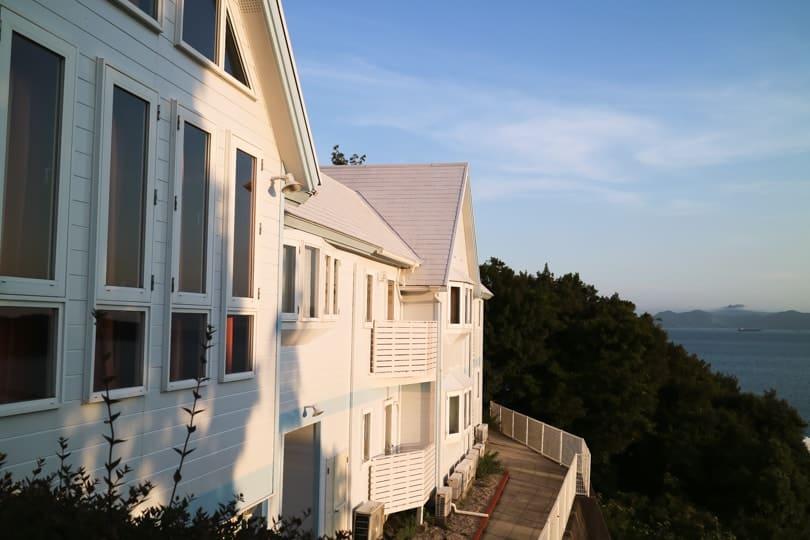 小豆島の素敵なペンション『カントリーインザホワイトマリーン』