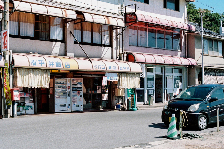 フィルムカメラで撮る鞆の浦の街並み