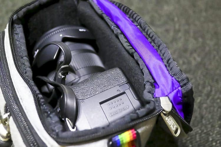 チャムス カメラバッグ