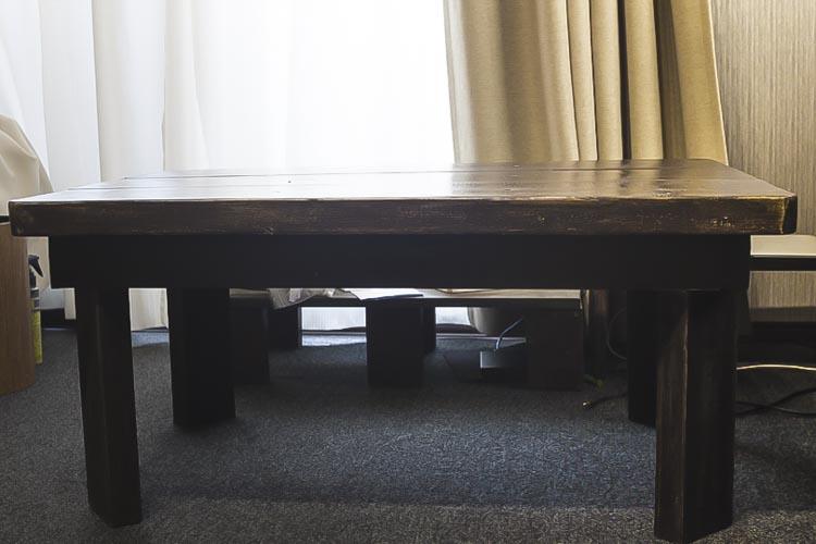 DIY ローテーブル リメイク