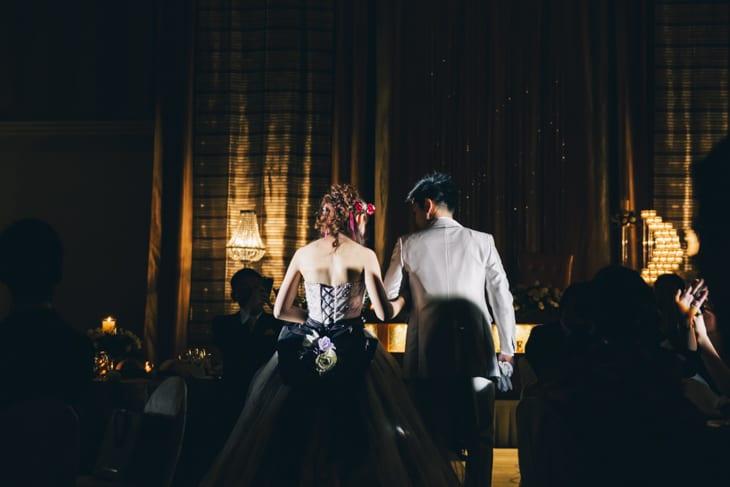 結婚式 ズームレンズ トリミング