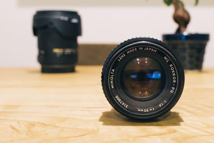 オールドレンズ MINOLTA MC ROKKOR-PG 50mm F1.4