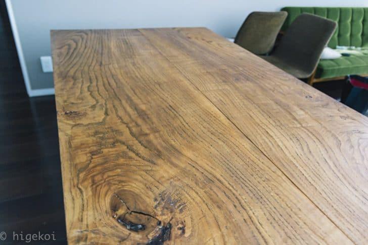 ダイニングテーブル 再塗装