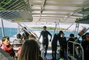 シュノーケルツアー グリーン島