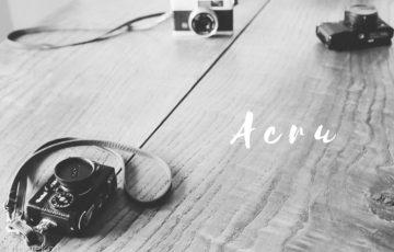 Acru(アクリュ)ネックストラップ