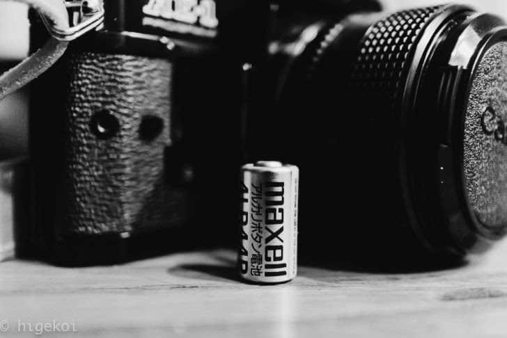 Canon AE-1 電池