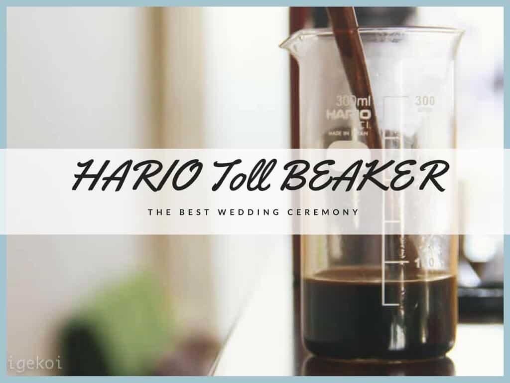 ハリオ ビーカー