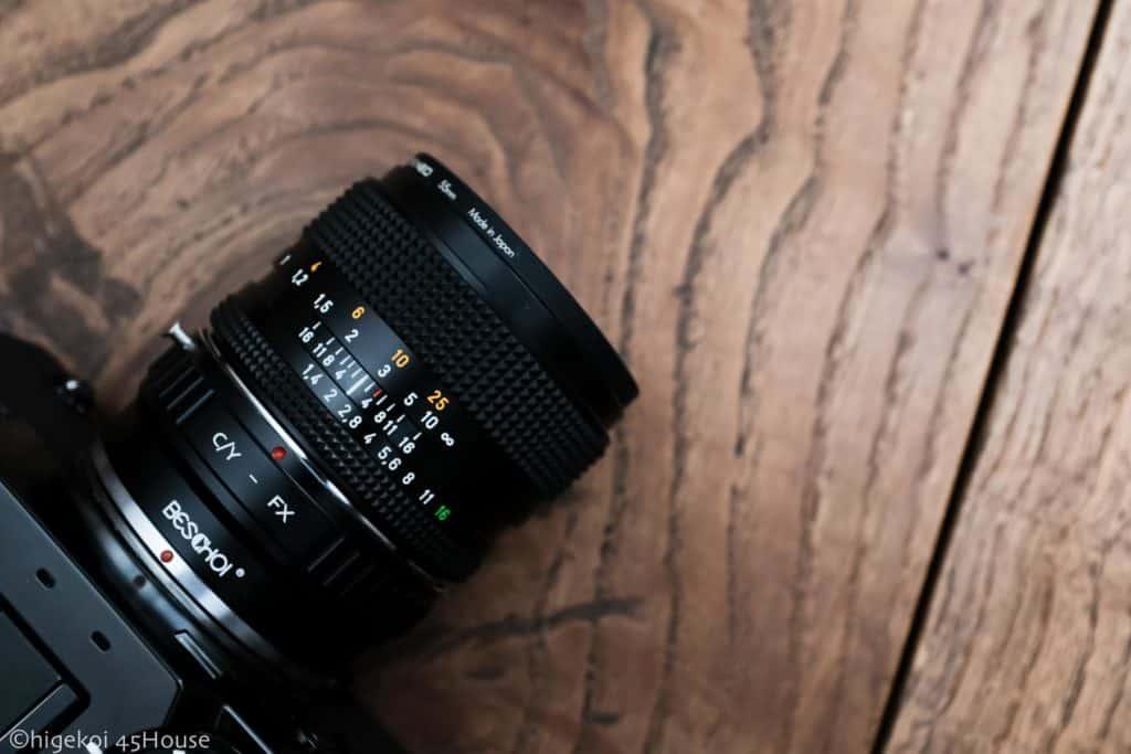 X-Pro2 Planar50mmF1.4