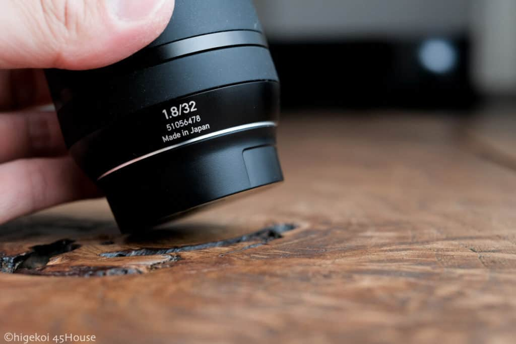 Carl Zeiss Touit32mm F1.8